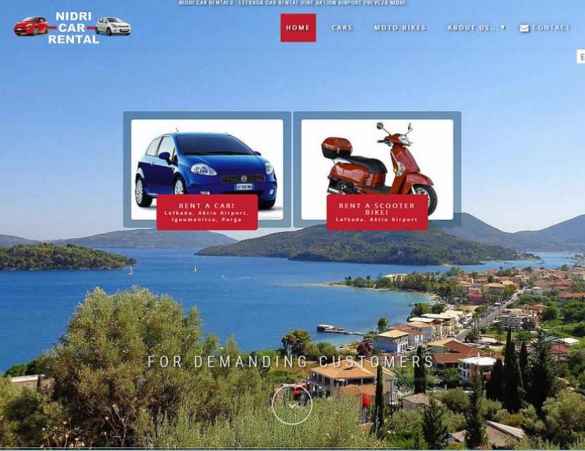 Nidri Car Rental